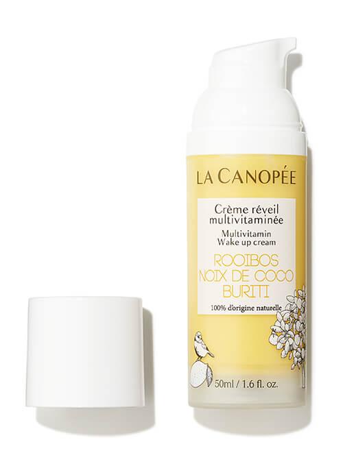 Flacon crème réveil multivitaminée adapté à la grossesse et l'allaitement. 50ml La canopée.