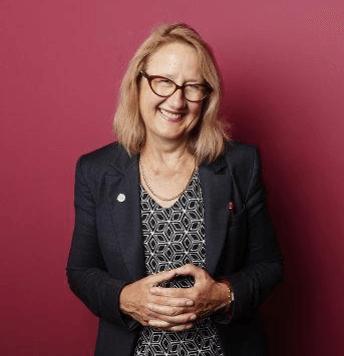 Portrait de Dr. Helen O'Connell