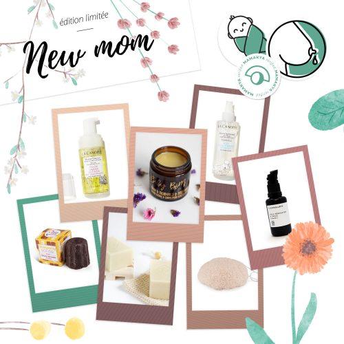 Coffret New Mom avec les 7 produits adaptés maman et bébé